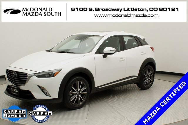 Certified Pre-Owned 2016 Mazda CX-3 Grand Touring i-ACTIVSENSE Package