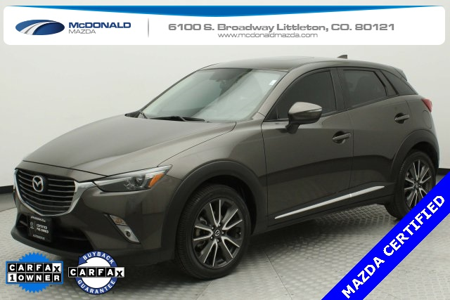 Certified Pre-Owned 2017 Mazda CX-3 Grand Touring