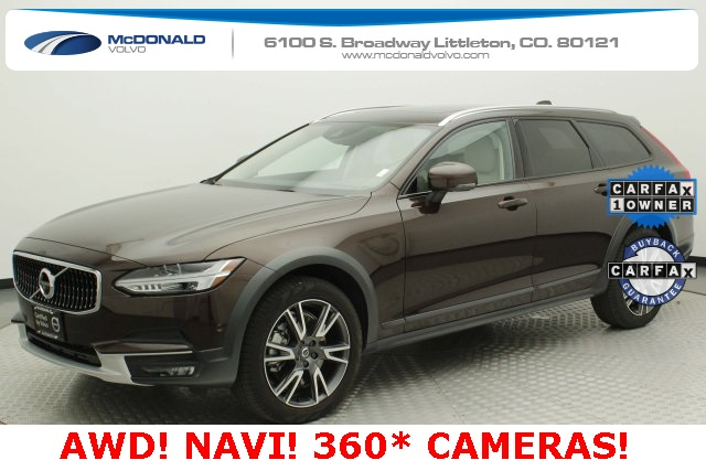 Pre-Owned 2018 Volvo V90 Cross Country T6 AWD