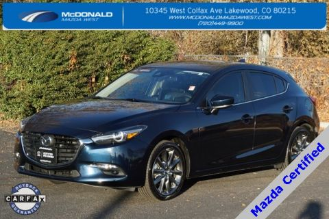 Certified Pre-Owned 2018 Mazda3 Grand Touring Base